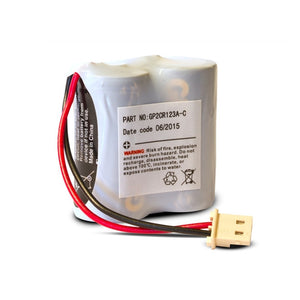Batterie GP2CR123A 6V pour PG8934 DSC - HomeShield