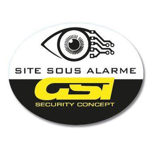Autocollants dissuasifs - GSISecurity