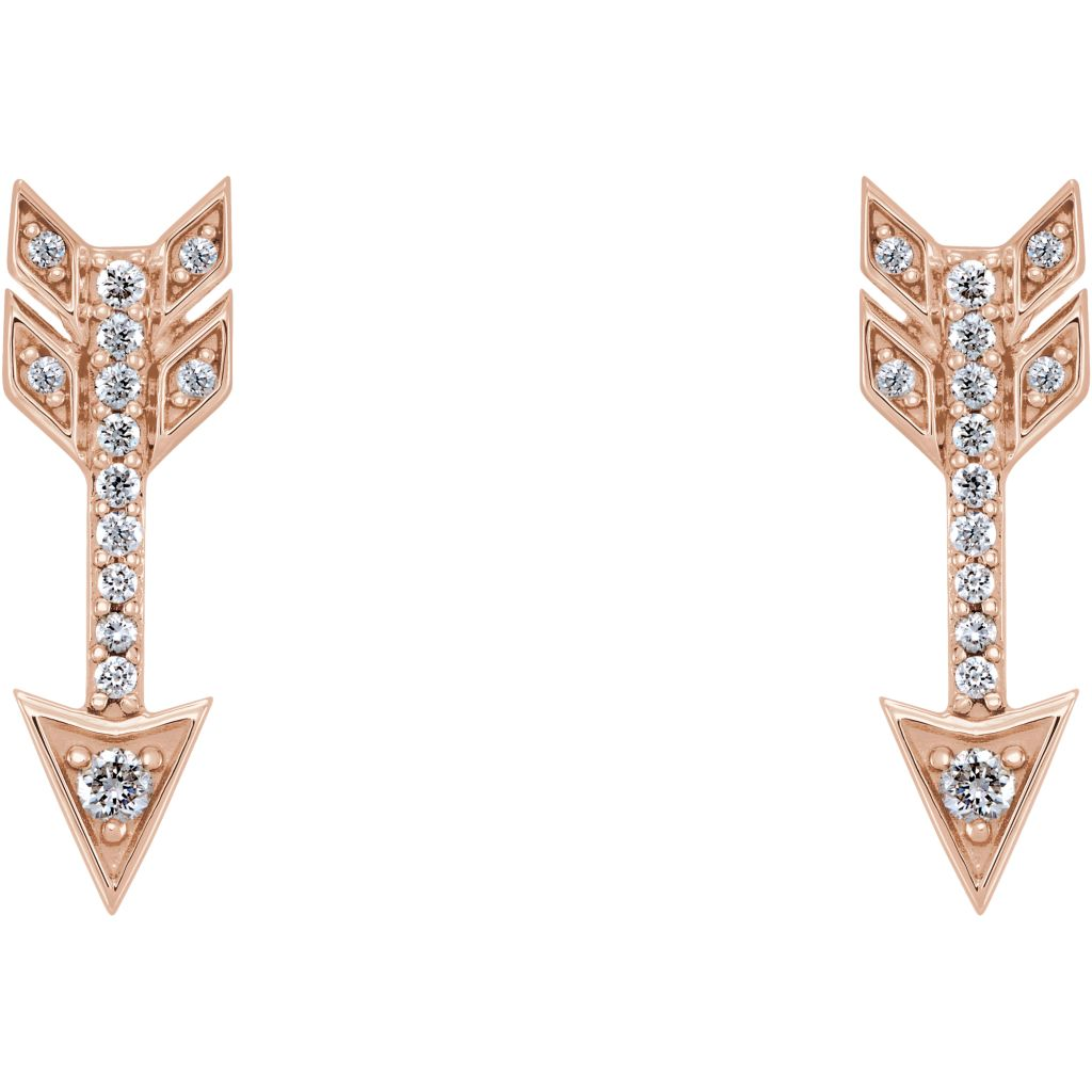 Diamond Fashion, Earrings, Diamond Earrings, Symbols/Nature, Set