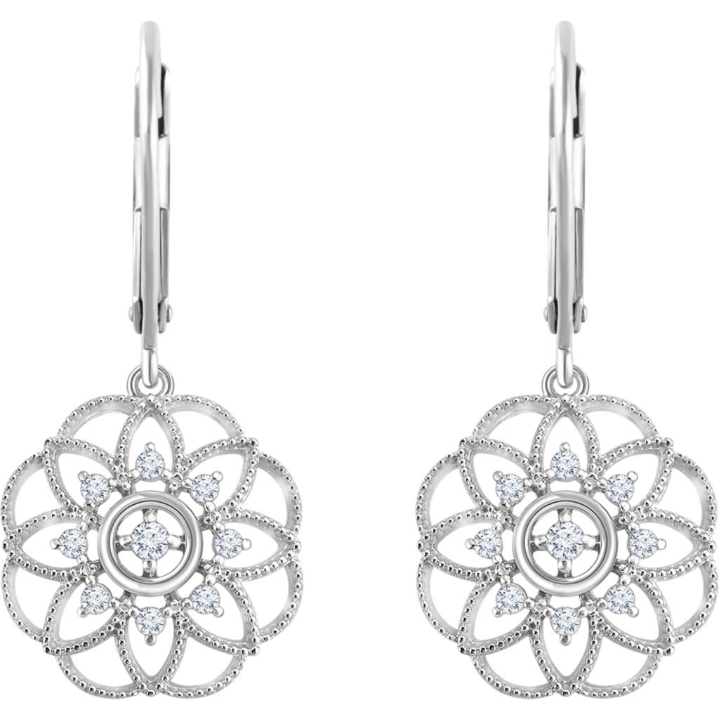 Diamond Fashion, Earrings, Diamond Earrings, Drops/Dangles, Earrings