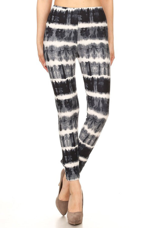 sueded bailey tye dye ankle weave legging