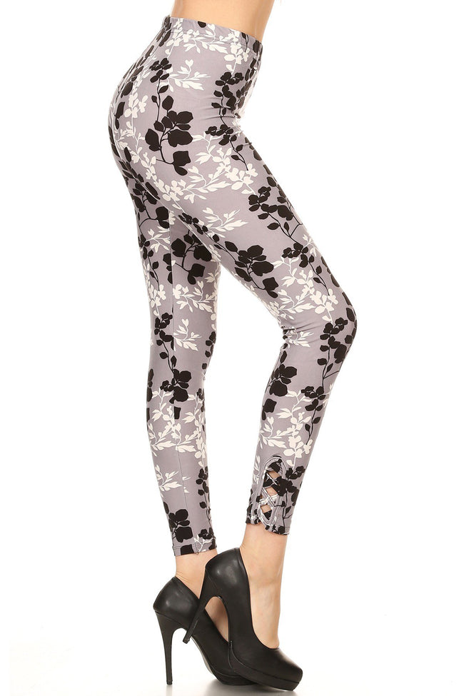 sueded ophelia ankle weave legging