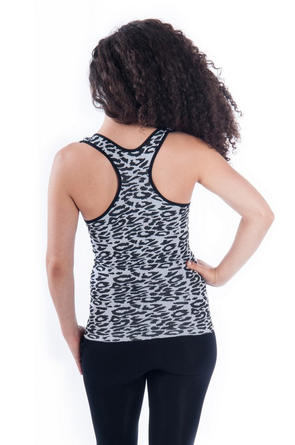 ribbed racer back
