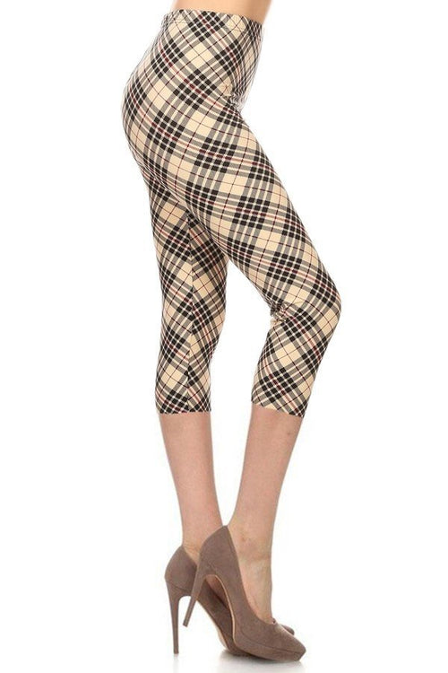 sueded london twist capri legging