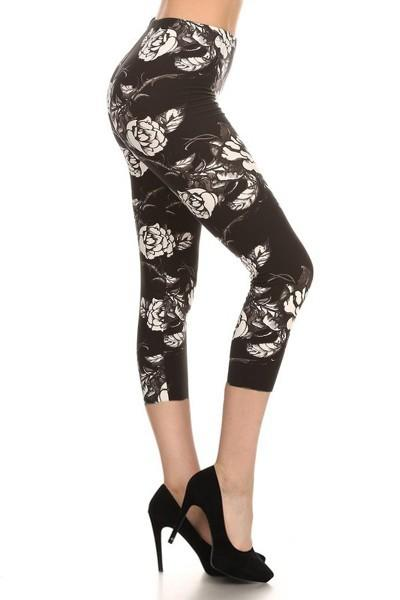 sueded rosie capri legging
