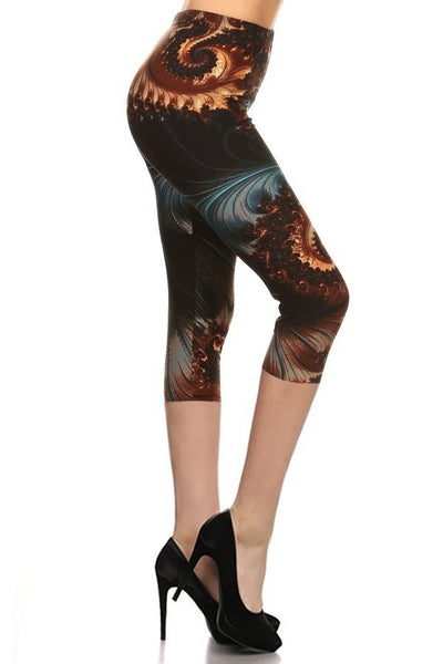 sueded bethany capri legging