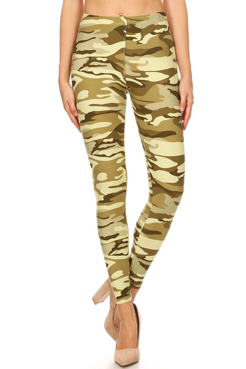 sueded casey camo legging