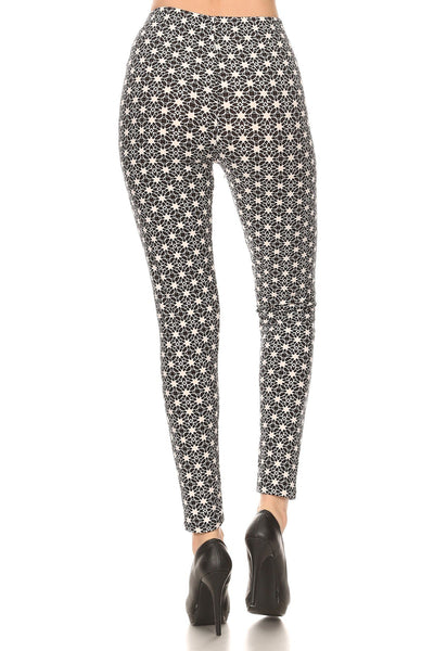 sueded harper star legging