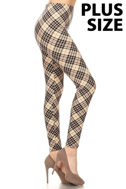 sueded london twist legging plus