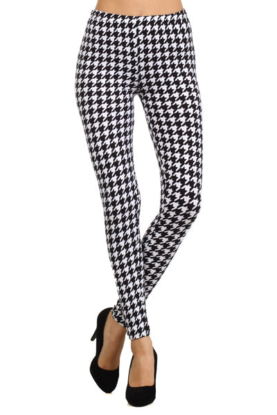 sueded chic stripe legging