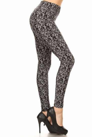 sueded chanel storm legging