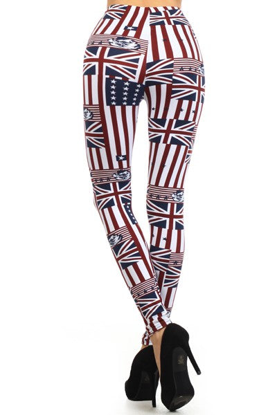 sueded american jack legging