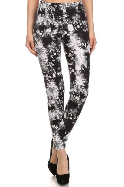sueded new tye dye legging