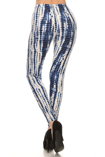 sueded blue ice legging