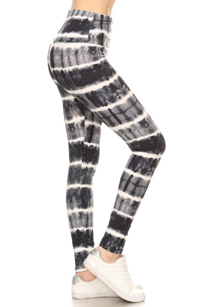 sueded high waist baileys tye dye legging