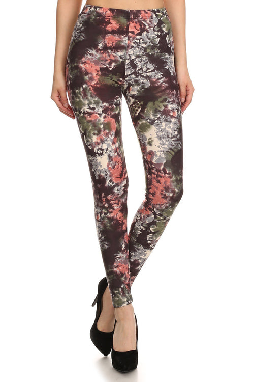 sueded autumn splash legging