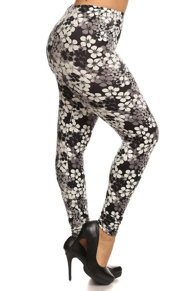 sueded grey passion legging plus