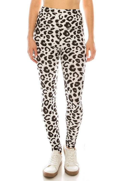 sueded high waist b/w wild thing legging