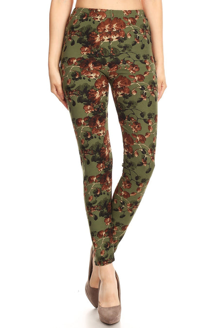 sueded kayla - tartan legging plus