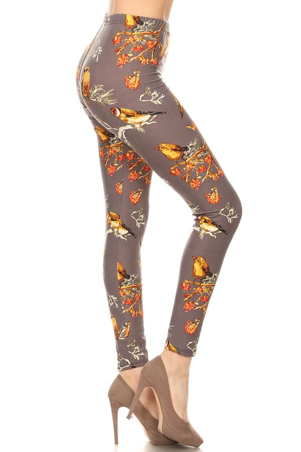 sueded summers forest legging