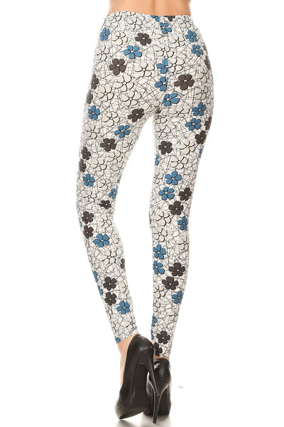 sueded doris daisies legging