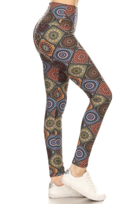 sueded bordeaux camo legging