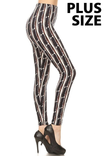 sueded wildwood legging plus