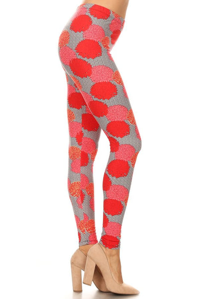 sueded fiesta legging