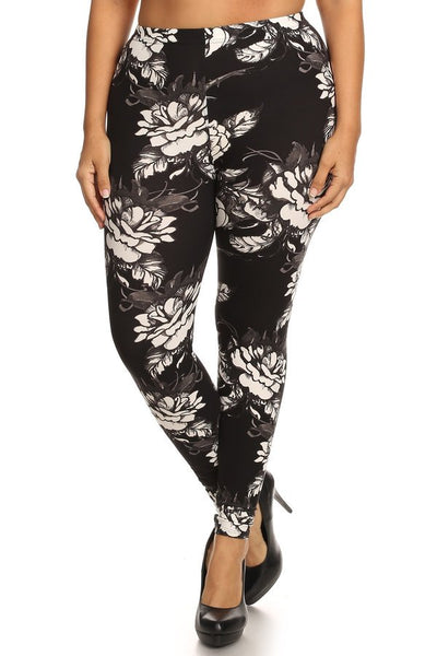 sueded belinda legging plus