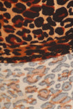 sueded wild cheetah legging