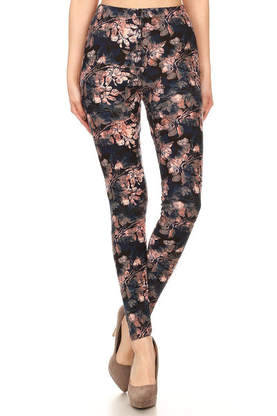 sueded vera bouquet legging