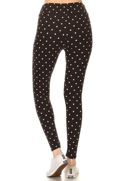 sueded high waist dottie legging