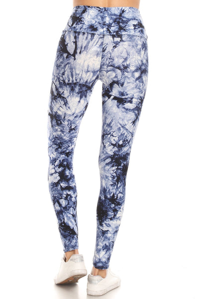 sueded high waist inked legging