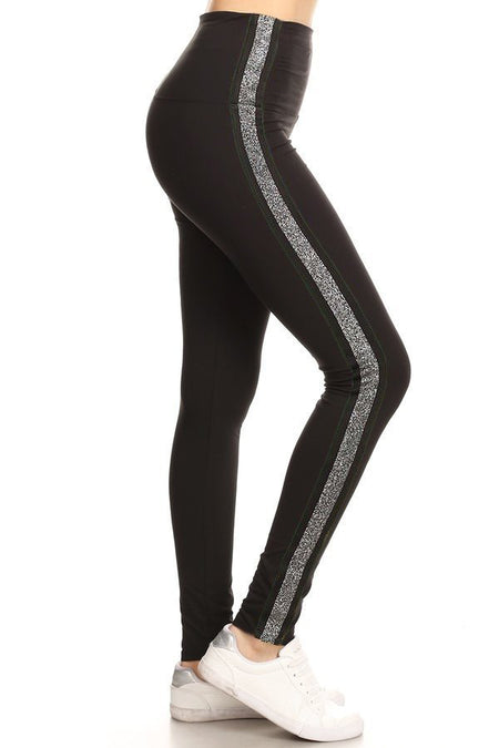 sueded butterfly parade legging