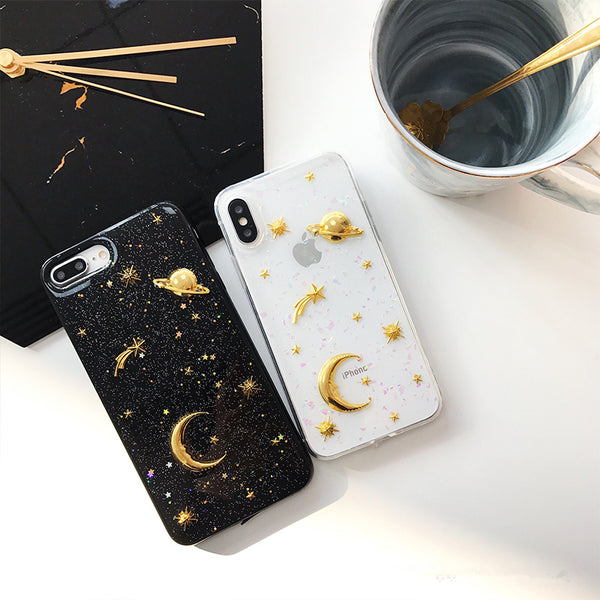 Sparkling Space Phone Cases