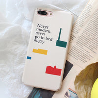 Colorful Geometric Art Design Phone Case