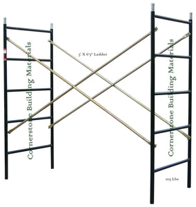 "3' x 6'7"" Flip Lock Ladder Frame Set (FF367L)"