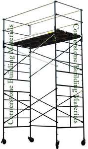 "5'W x 10'L x 14'2""H Scaffold Rolling Tower (5X10X14-2SL/DL)"