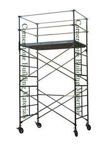 "5'W x 7'L x 10'8""H Scaffold Rolling Tower (5X7X10-8DL)"