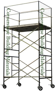 "5'W x 7'L x 10'11""H Scaffold Rolling Tower (5X7X10-11SL)"