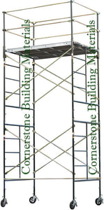 "5'W x 7'L x 14'2""H Scaffold Rolling Tower (5X7X14-2SL/DL)"