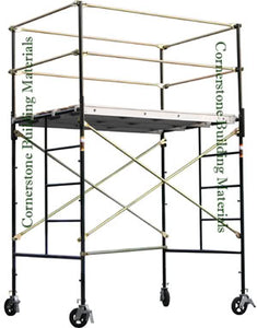 "5'W x 7'L x 7'4""H Scaffold Rolling Tower (5X7X7-4SL)"