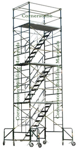 "5'W x 7'L x 20'8""H Scaffold Rolling Tower /w Outriggers (5X7X20-8C4/O)"