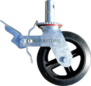 "8"" Rubber Caster Wheel (CASTOR8R)"