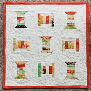 Moda/Aurifil My Spool Mini Quilt
