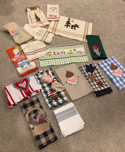 Quilt Guild Meeting Idea - Tea Towel Exchange