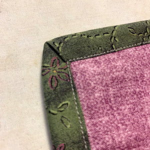 Mitered Binding on a Quilt (Part 2)