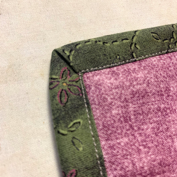 Mitered Corners on a Quilt Binding (Part 2)
