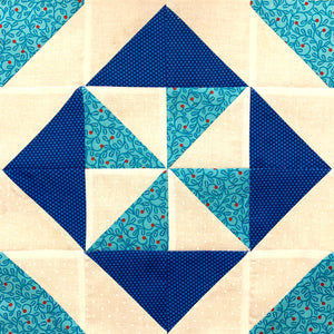 Pin Wheel Quilt Block How to Tutorial