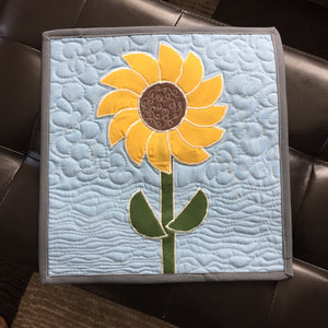 Sunflower Mini Quilt